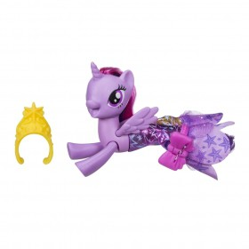 Boneca My Little Pony Twilight Sparkle Vestido Magico C3281 - Hasbro