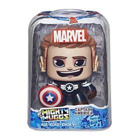 Boneco Capitão America Mighty Muggs Marvel  E2199 / E2122 - Hasbro