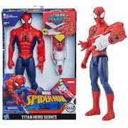 Boneco Homem Aranha 30 Cm Titan Hero Com Dispositivo Power FX E3552 - Hasbro