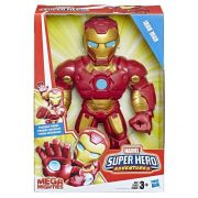 Boneco Homem de Ferro Mega Mighties Playskool Heroes Marvel Super Hero Adventures E4150 E4132 - Hasbro