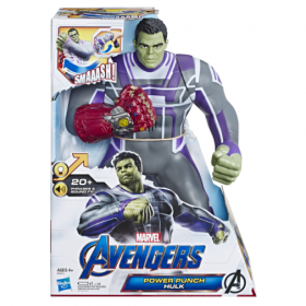 Boneco Hulk Eletronico Action Figure Deluxe Power Punch E3313 - Hasbro