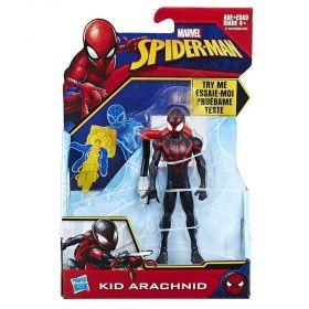 Boneco Kid Arachnid 15 Centímetros Quick Shot E1104 - Hasbro  E0808