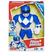 Boneco Power Ranger Azul Mega Mighties Playskool Heroes E5874 E5869 - Hasbro