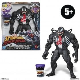 Boneco Spd Venom Com Slime E9001 - Hasbro