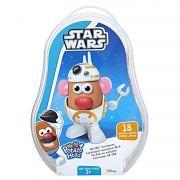 Boneco Sr Cabeça de Batata Como Droide BB8 de Star Wars Container C0050 - Hasbro
