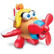 Boneco SRA. Cabeça de Batata Avião Divertido E5859 - Hasbro