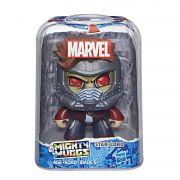 Boneco Star Lord - Senhor das Estrelas - Mighty Muggs Marvel  E2209 / E2122 - Hasbro