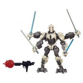 Boneco Star Wars Hero Mashers Deluxe Episódio VII - General Grievous - Hasbro