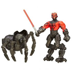 Boneco Star Wars Hero Mashers Deluxe Episódio VII - Darth Maul With Gear - Hasbro