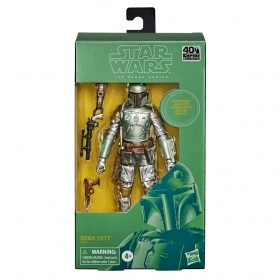 Boneco Star Wars The Black Series Carbon Boba Fett E9927 - Hasbro