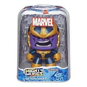 Boneco Thanos Mighty Muggs Marvel  E2201 / E2122 - Hasbro