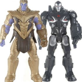 Boneco Thanos Ultimato E4018  + Boneco Maquina de Combate Ultimato E4017 - Hasbro