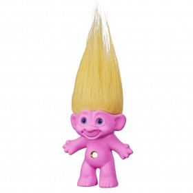 Boneco Trolls Clássico Rosa Good Luck E8259 - Hasbro