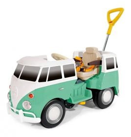 Carrinho de Passeio andador Infantil Kombi Kombus Verde Policar 7911 - Poliplac
