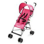 Carrinho Guarda Chuva Para Bebê de 06 Meses a 15 Quilos Rosa BB508 Way Weego - Multikids