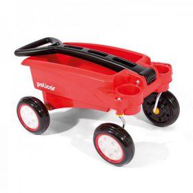 Carrinho infantil de Puxar Wagon Policar 7812 - Poliplac