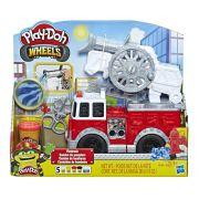 Conjunto Play Doh Wheels Carro de bombeiro E6103 - Hasbro