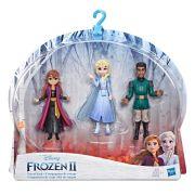 Frozen 2 - Pack mini Boneca Anna Elsa e Mattias kit de Viagem E6912 - Hasbro E5504