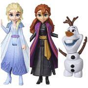 Frozen 2 - Pack Mini Boneca Anna, Elsa,  Olaf e Gale E8056 - Hasbro