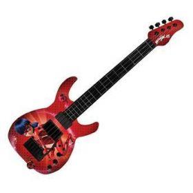 Guitarra Infantil da Ladybug - Eletrônica Com Luz e Sons