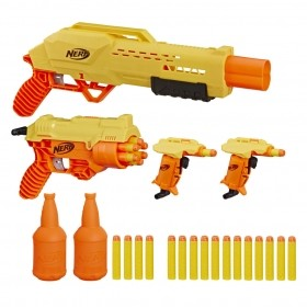 Lançador Nerf Alpha Strike Missao Secreta E8342 - Hasbro