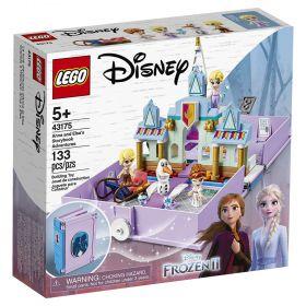 LEGO Disney - Frozen 2 Aventuras do Livro de Contos da Anna e Elsa - Lego 43175