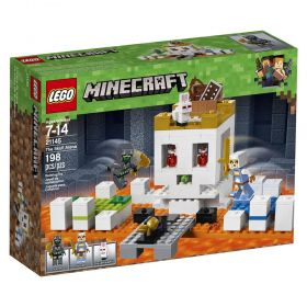 LEGO Minecraft - A Arena da Caveira - Lego 21145