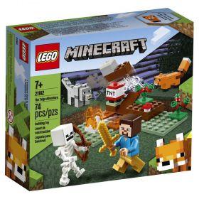 LEGO Minecraft - A Aventura em Taiga - Lego 21162