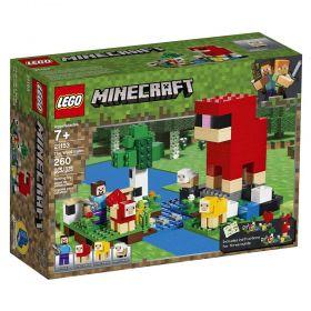 LEGO Minecraft - A Fazenda da Lã - Lego 21153