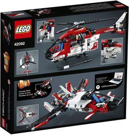 LEGO Technic - Helicóptero de Salvamento 2 em 1 - Lego 42092