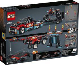 LEGO Technic - Motocicleta e Caminhão de Acrobacias - Lego 42106