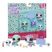 Littlest Pet Shop Noite de Filme com as Tartarugas E1013 - hasbro B9346