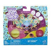 Littlest Pet Shop Passarinho Roy Peacoat E2429 - Hasbro E2161