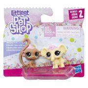 Littlest Pet Shop Serie 2 Edicao Especial Docinhos Macaco e elefante E1071 - Hasbro E0399