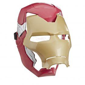 Mascara Flip Homem de Ferro Efeito Luminoso E6502 - Hasbro