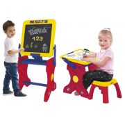 Mesinha Infantil Estudio de Arte Lousa do Pequeno Artista 2 em 1 Play Doh - Fun 84283
