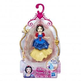 Mini Boneca Princesa Disney Royal Clips Branca de Neve E4861 E3049 - Hasbro