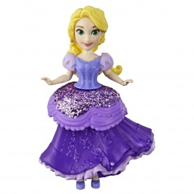 Mini Boneca Princesa Disney Royal Clips Rapunzel E4863 E3049 - Hasbro