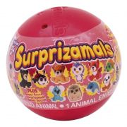 Mini Pelucia Surprizamals Wackys - Toyng