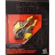 Mini Veículo Star Wars Jedi Starfighter de Anakin Skywalker - Hasbro