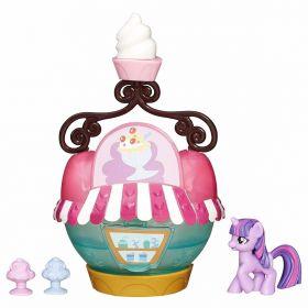 My Little Pony Cenários Quiosque de Sorvete  Twilight Sparkle - Hasbro