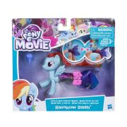 My Little Pony Moda Terrestre e Marinha Rainbow Dash - Hasbro