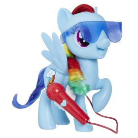 My Little Pony Rainbow Dash Cante Comigo - Rainbow Dash Cantor - E1975 - Hasbro