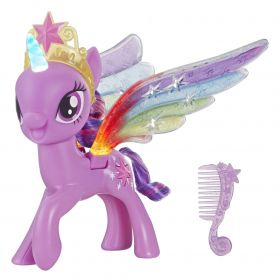 My Little Pony Twilight Sparkle Asas Arco-íris E2928 - Hasbro