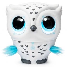 OWLEEZ Branca - Coruja Interativa Voadora 2105 - Sunny