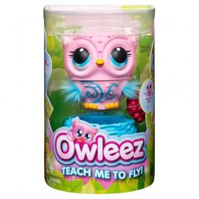 OWLEEZ PINK - Coruja Interativa Voadora 2106 - Sunny