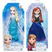 Pack Boneca Anna E0316 + Boneca Elsa E0315 Venstidos Classicos - Hasbro