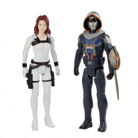 Pack Bonecos Marvel TaskMaster e Black Widow E8675 - Hasbro