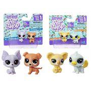 Pack Duplo Littlest Pet Shop Mini Pets Serie 1 C3008 / C3010 - Hasbro B9389