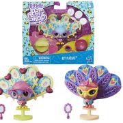 Pack Littlest Pet Shop Roy Peacoat e Ella Parrotti E2428 / E2429 - Hasbro E2161